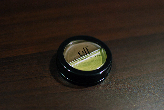 e.l.f. duo cream eyeshadow - olive