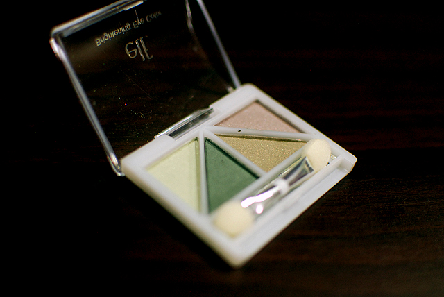 e.l.f. brightening eye color - ivy