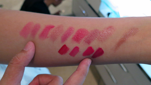 Guerlain Counter Swatches