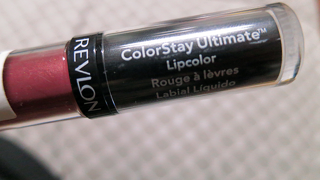 revlon - colorstay ultimate lipcolor - premier plum - tube2