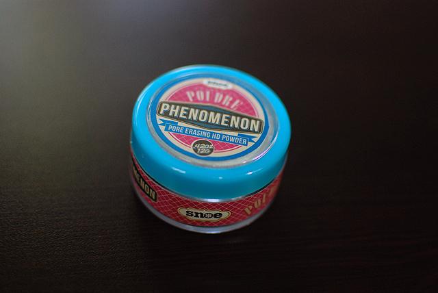 snoe - poudre phenomenon - pot closed