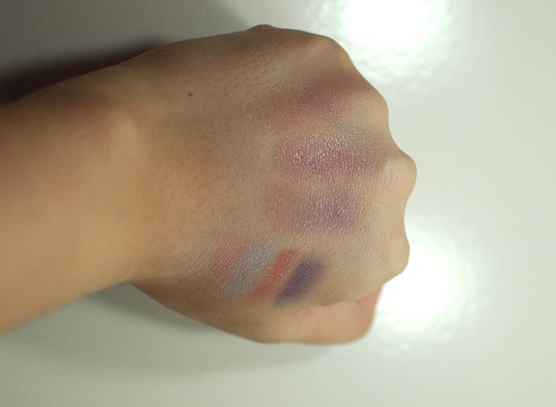 Le Metier de Beaute - Northern Lights - Swatches - Layered