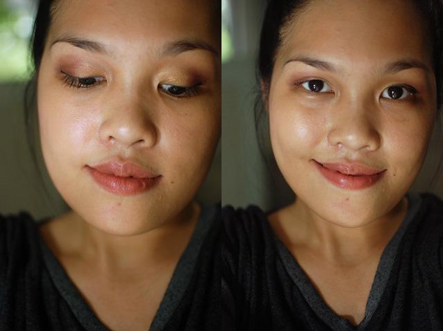 FOTD - Aubergine Gold Face