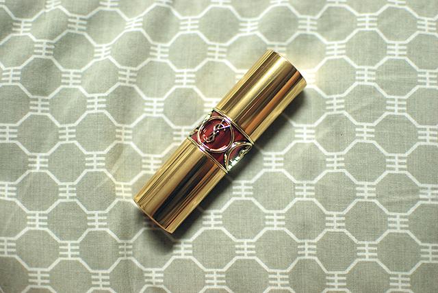 YSL - Rouge Volupte Shine - Rose in Tension - Tube