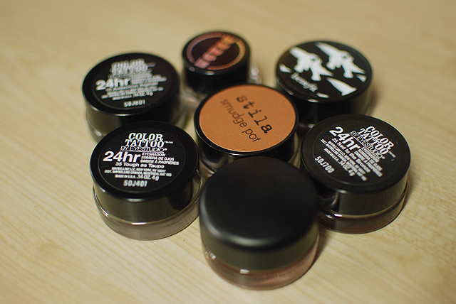Cream Shadow Collection