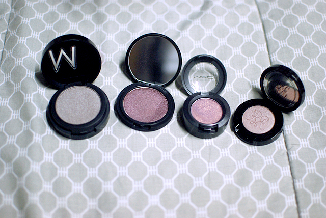 Individual Eyeshadow Comparison
