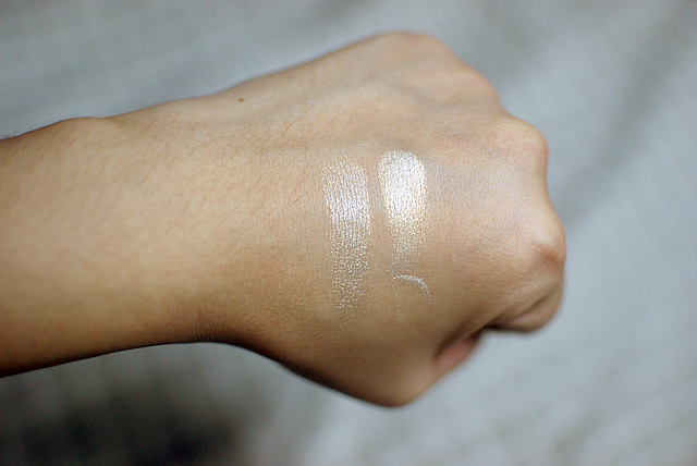 Make Up Store bareMinerals Dupe - Swatches