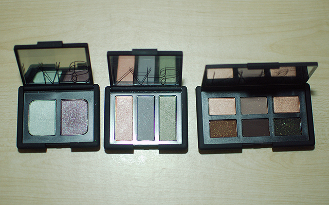 NARS - And God Created the Woman Set - Pan Comparison