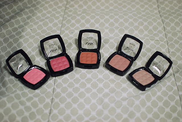 NYX Powder Blush - Open Compacts