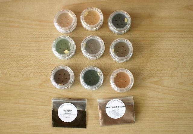 Shiro - Pots and Samples