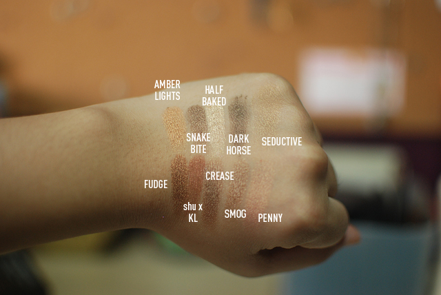 The Quest for the Fudge Dupe - Swatches with Names