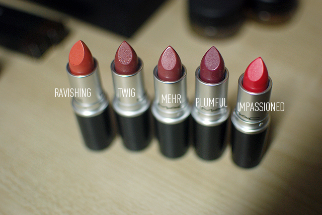 MAC Haul - Lipsticks