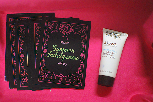 May BDJ Box - 2013 - Cards, Ahava