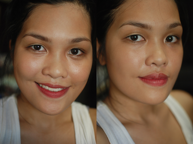 NARS Velvet Matte Lip Pencil in Dolce Vita, Chanel Rouge Allure in Captivante