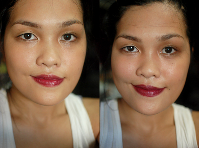 Revlon Kissable Balm Stain - Crush, Maybelline Refined Wine
