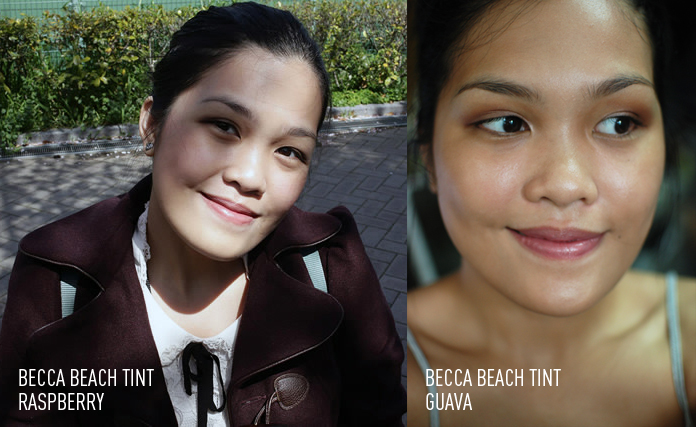 BECCA BEACH TINT - face