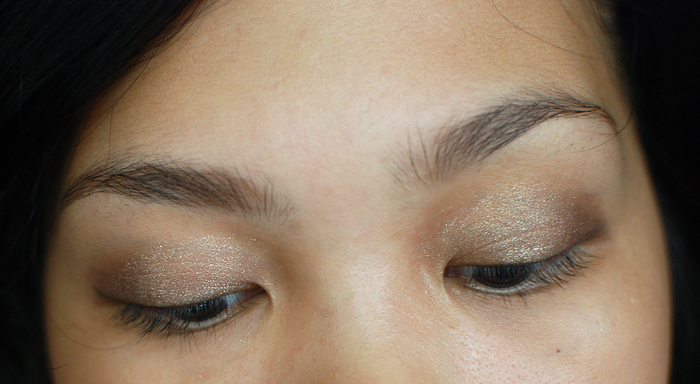 essence - stay all day - long lasting eyeshadow - glammy goes to - Face