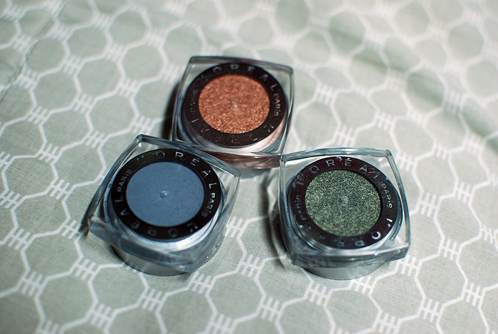 L'Oreal Infallible - Amber Rush, Golden Sage, Sultry Smoke - Pots