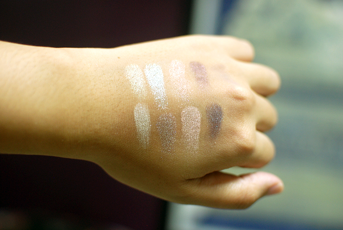 MUI - EQ - Swatches - Chanel, Suqqu
