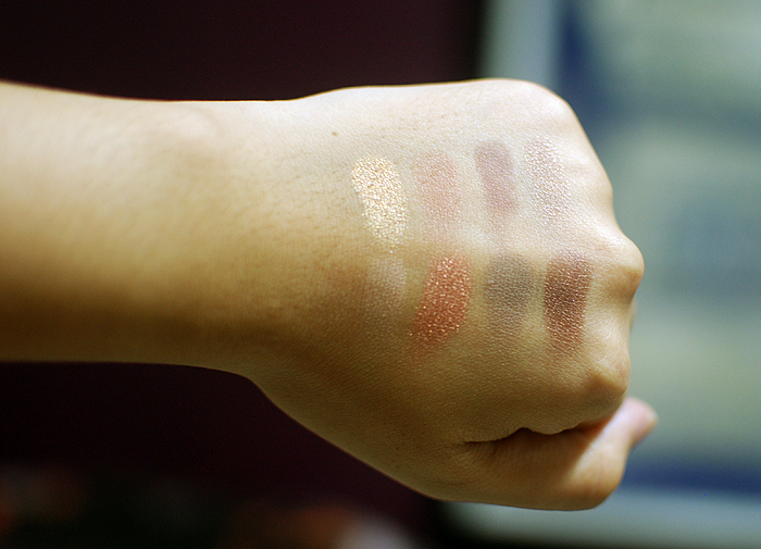 MUI - EQ - Swatches - Guerlain, bareMinerals