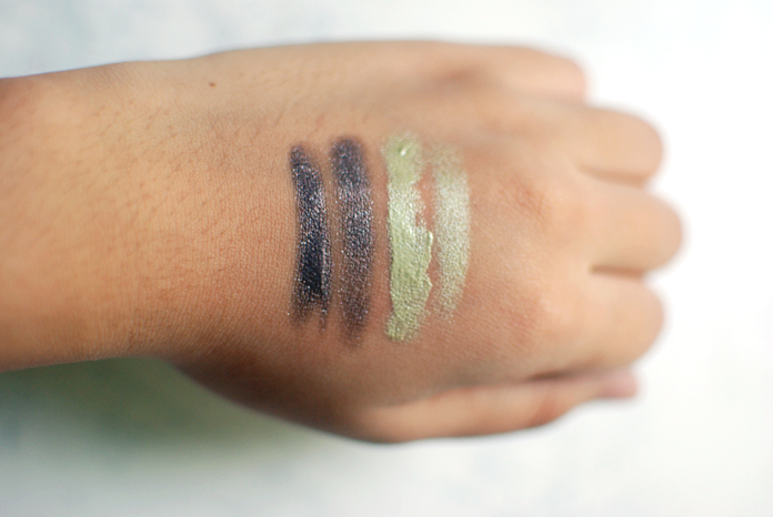 Flower Color Play Creme Shadow - Orchid-ing Around, Vine of the Times - Swatches