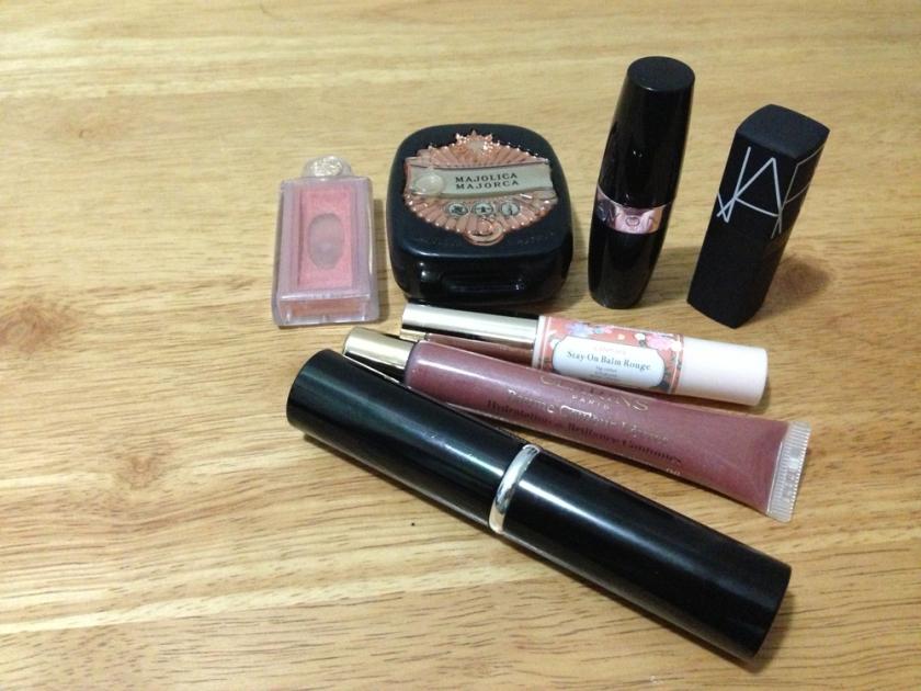 Makeup Bag Contents