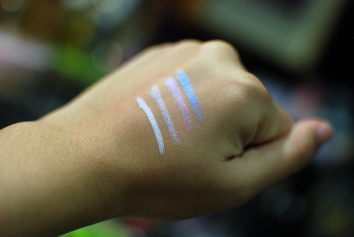NYX Jumbo Eye Pencils - Swatches