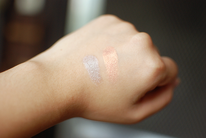 Wet n Wild Eyeshadow - Penny and Nutty Swatches