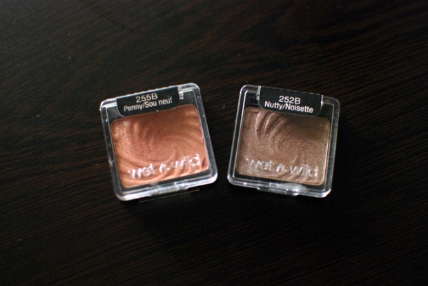 Wet n Wild Eyeshadow - Penny and Nutty