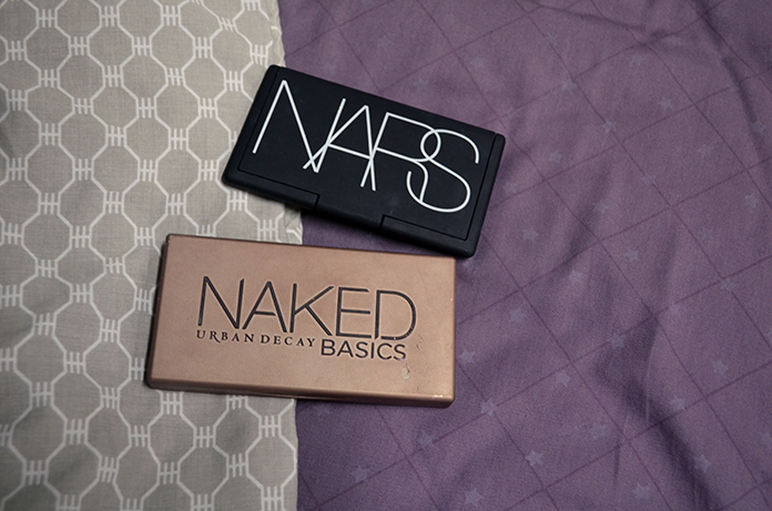 UD Naked Basics, NARS And God Created the Woman - Cases