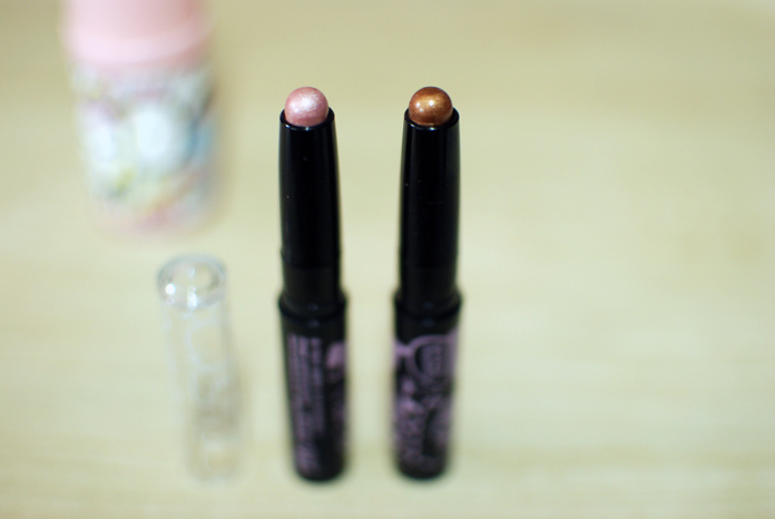 y.e.t. - Eyeshadow Sticks - Nude Pink, Bronze