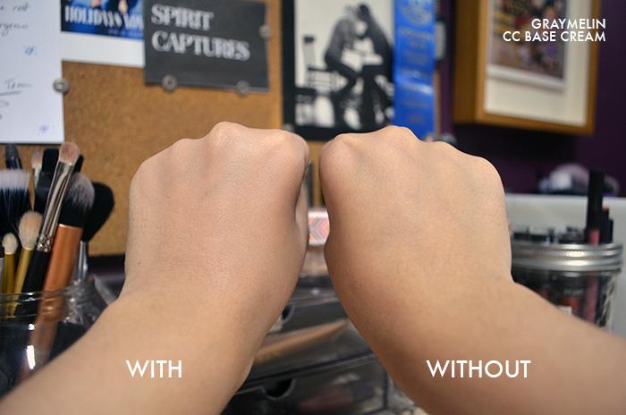 Graymelin - CC Cream - Comparison