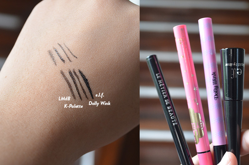 LMdB - Liquid Eyeliner Comparisons