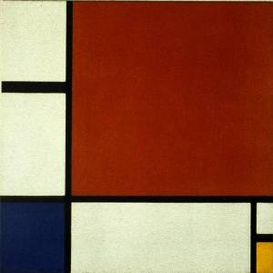 Mondrian: Composition II in Red, Blue and Yellow