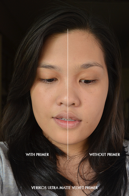 Verikos Ultra Matte Velvet Primer under Graymelin CC Base Cream