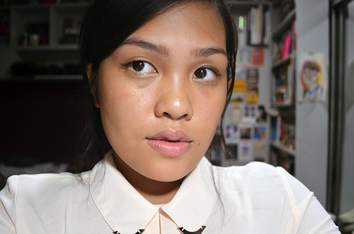 Le Metier de Beaute Hydra-Creme Lipstick in Cashmere - Face