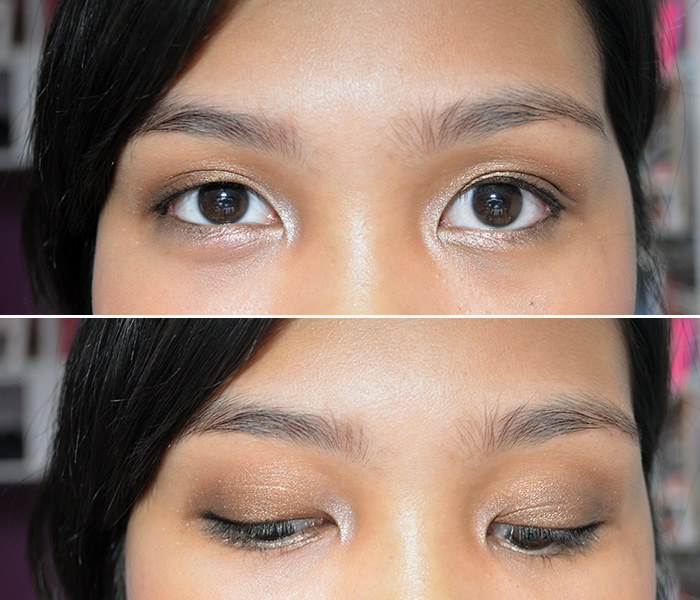 FOTD Golden Brown and Toasted - Eyes