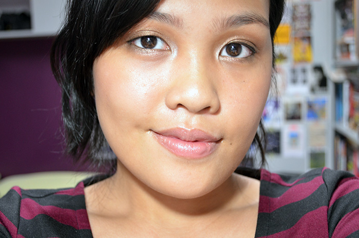 FOTD Golden Brown and Toasted - Face 2