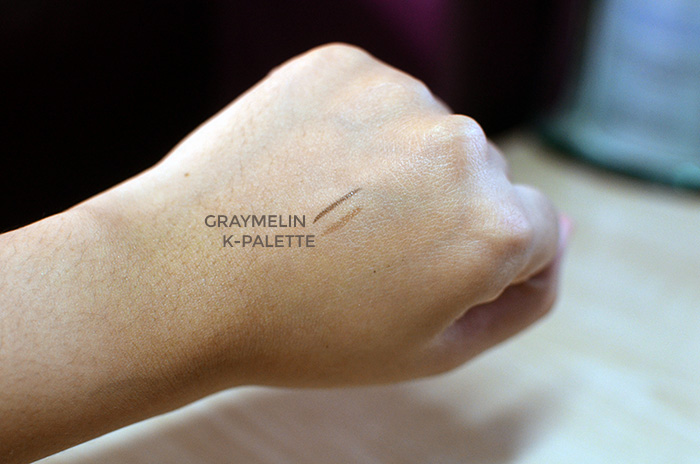 Graymelin Seven Tattoo Eyebrow - Dark Brown - Swatches