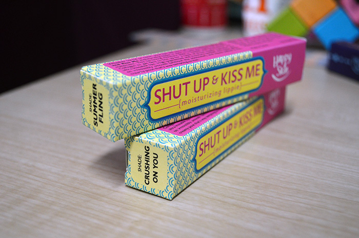 Happy Skin - Shut Up and Kiss Me - Box