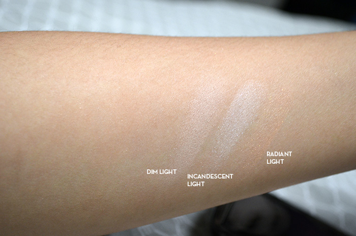 Hourglass Ambient Lighting Powder Palette - Swatches