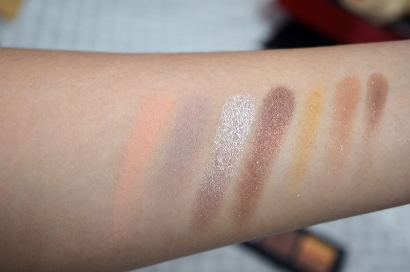 Inglot - 5Eye - Swatches'
