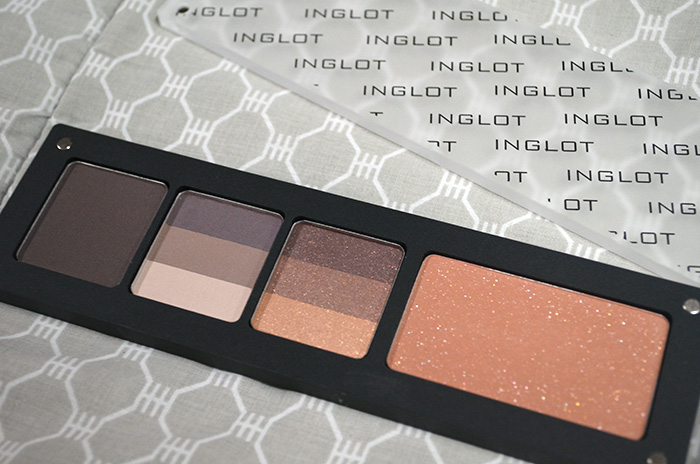 Inglot - Blush, 3Eye - Palette