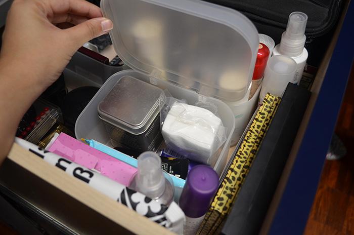 MU Storage - Desk Drawers - Cleaning Stuff