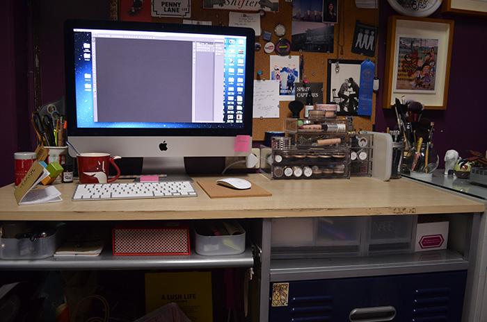 MU Storage - Whole Desk
