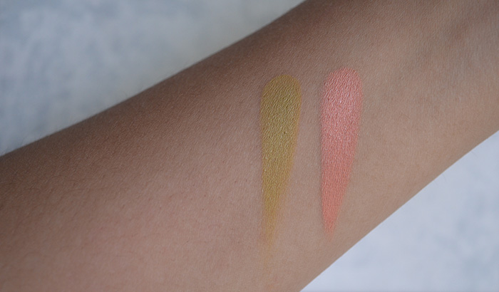OCC Cream Colour Concentrate - Cthulu, Newt - Swatches