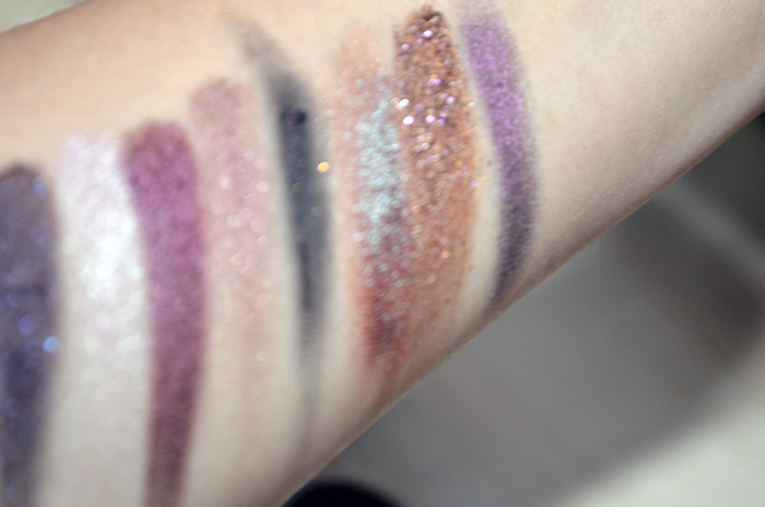 Oslo Cosmetics - Fuzzy Swatches - ASOIAF, Pyxis, Ara, Doradus, Noctem, Vela, Equinox, Lyra