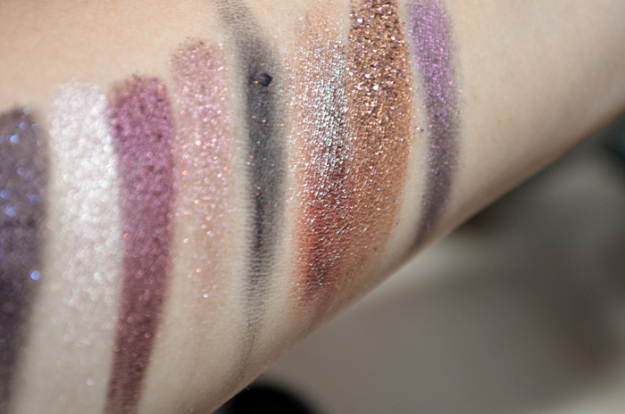 Oslo Cosmetics - Swatches - ASoIaF, Pyxis, Ara, Doradus, Noctem, Vela, Equinox, Lyra
