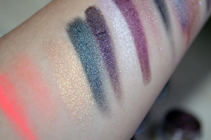 Oslo Cosmetics - Swatches - Closeup - Carina, Carinae, Orphicus, ASoIaF, Pyxis, Ara