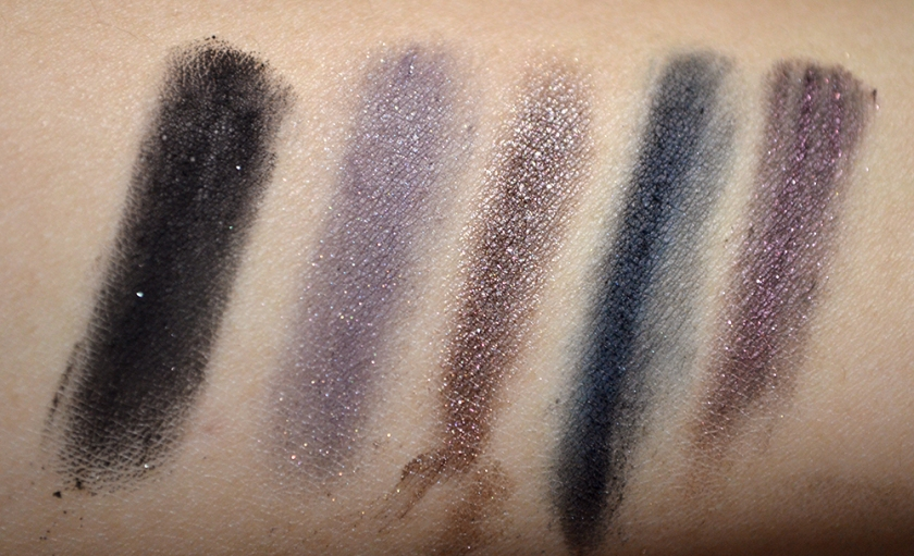 bareMinerals Degrees of Dazzling - Liners - Swatches